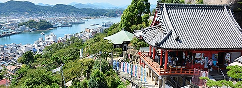 Sightseeing in Onomichi