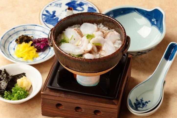 あこう雑炊(1,540円税別)