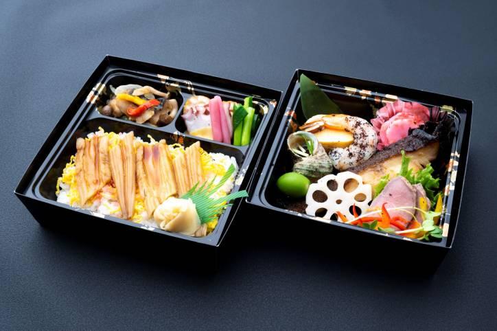 銀鱈弁当(一例)